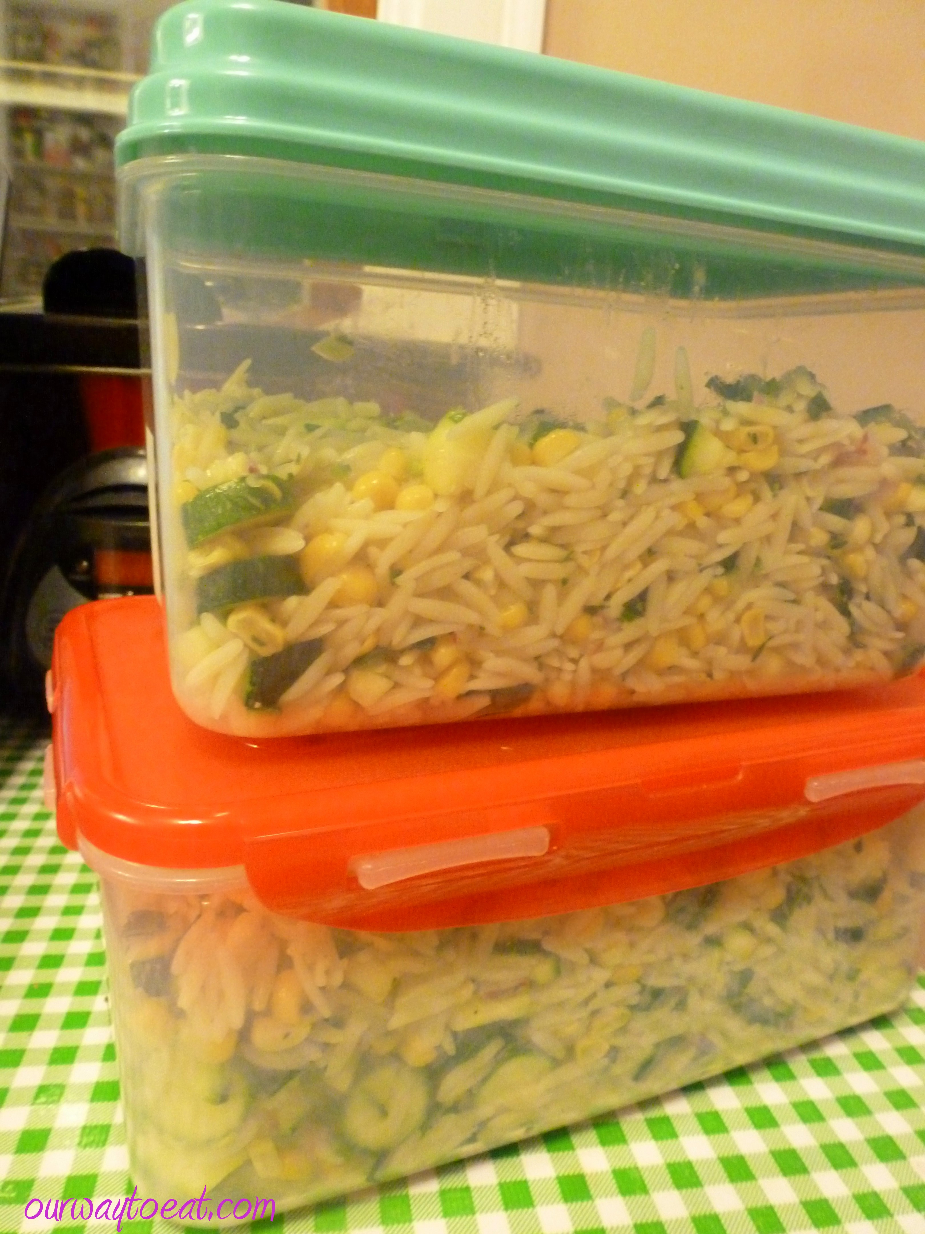 ... corn and zucchini orzo salad corn and zucchini orzo salad recipe