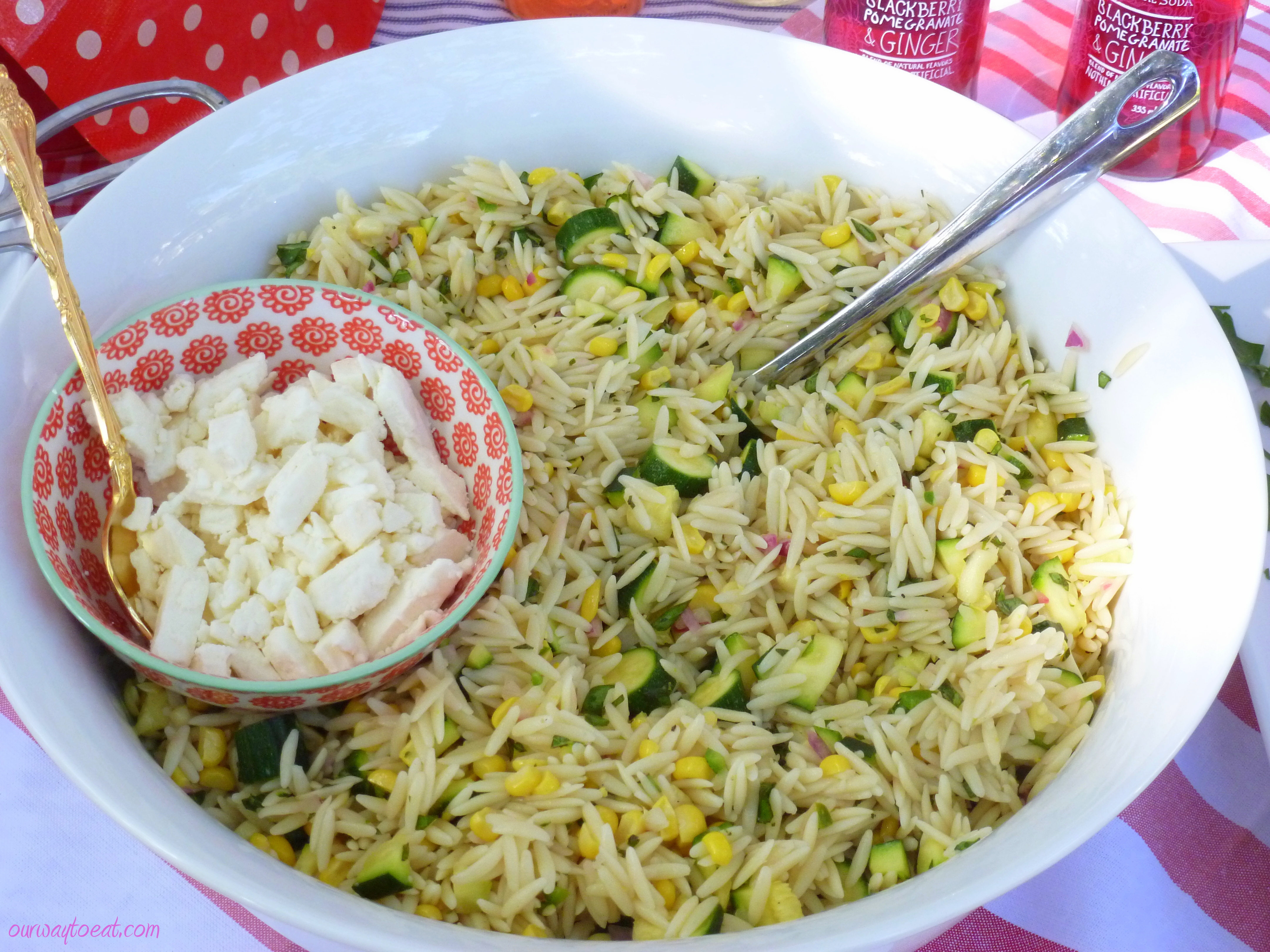 corn and zucchini orzo salad corn and zucchini orzo salad recipe