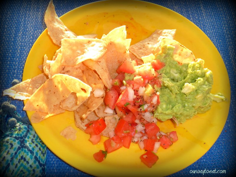 Chips, Pico and Fresh Guac