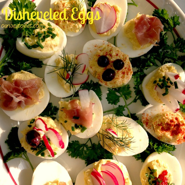 Disheveled Eggs on ourwaytoeat.com