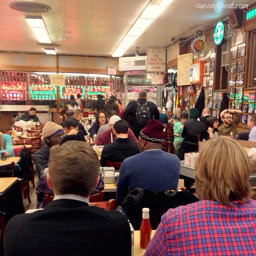 Friday night at Katz's ourwaytoeat