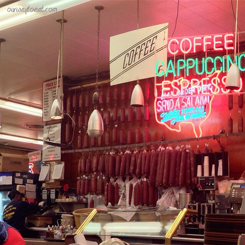 Send a Salami at Katz's ourwaytoeat