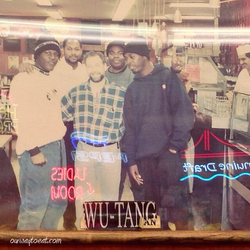 Wu Tang at Katz's ourwaytoeat