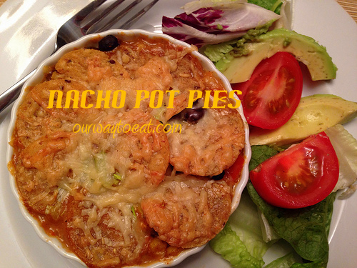 Nacho Pot Pies ourwaytoeat